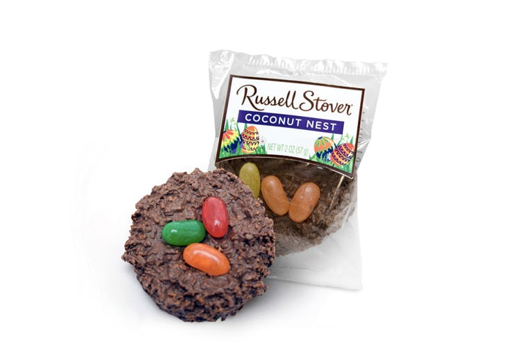 coconut nest easter candy