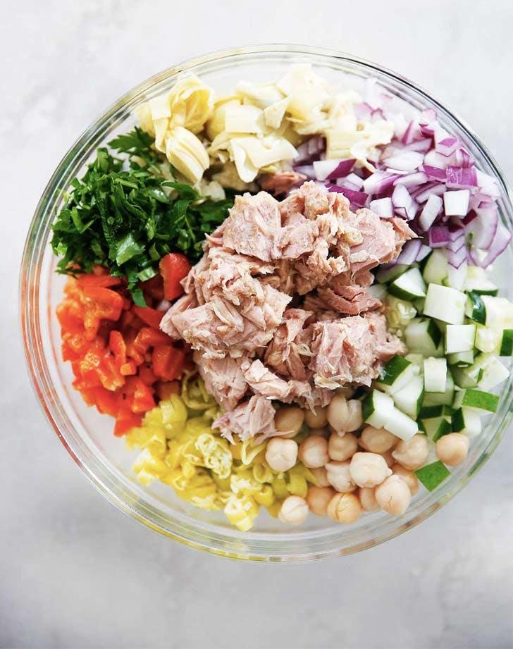 cold dinner recipes medi tuna salad