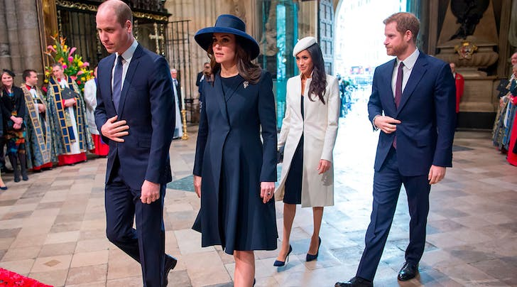 This Is the Next Time Well See the Fab Four Together Again—and Meghan Markle Will Be About 8 Months Pregnant