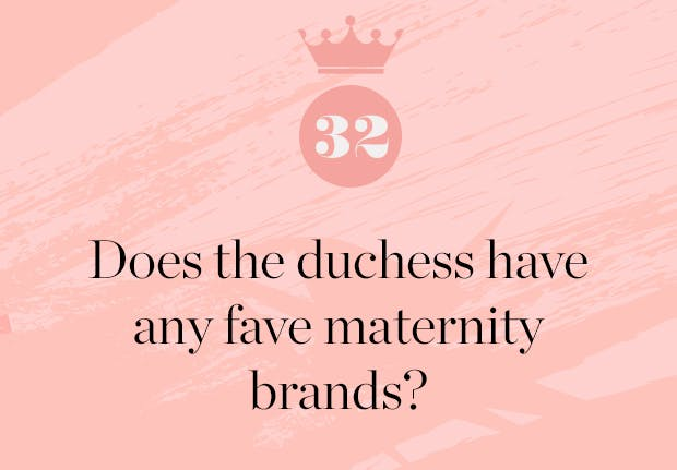 does meghan markle have any favorite maternity brands1