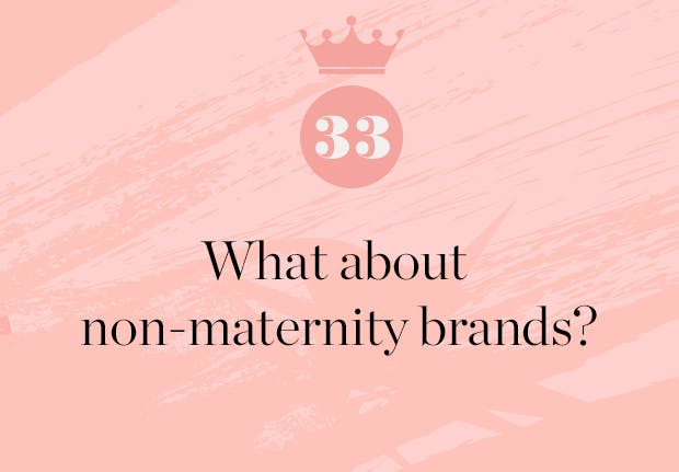 does the duchess have any favorite non maternity brands
