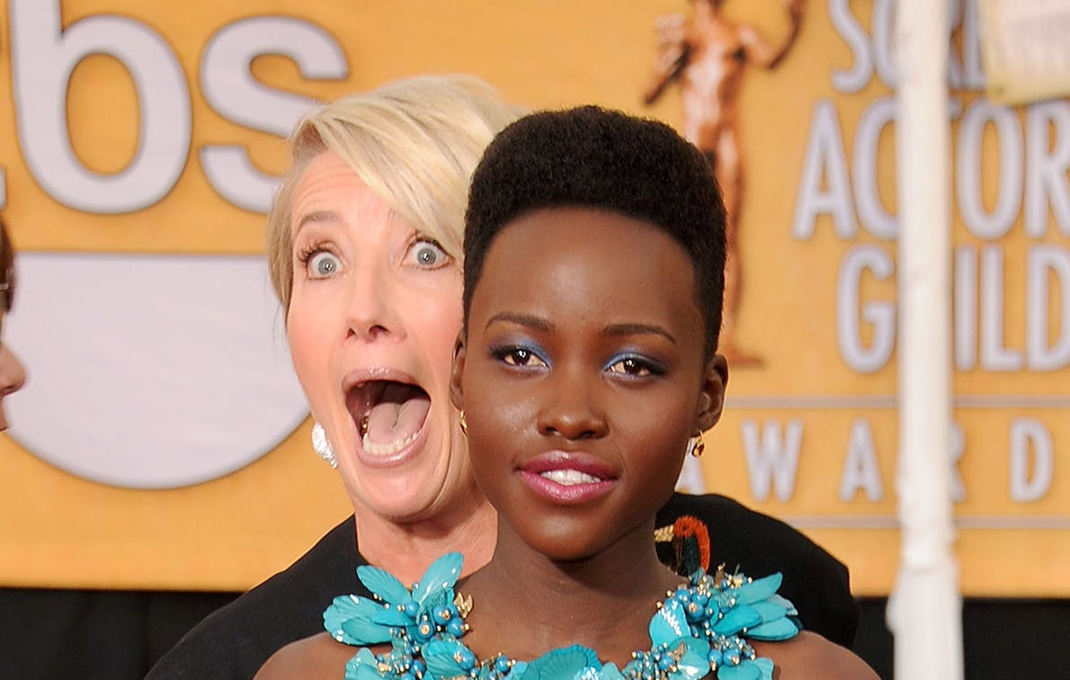Lupita Nyong'o Says We Should All Be More Like Emma Thompson