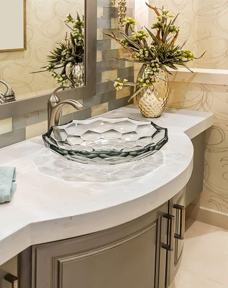 funky bathroom sink