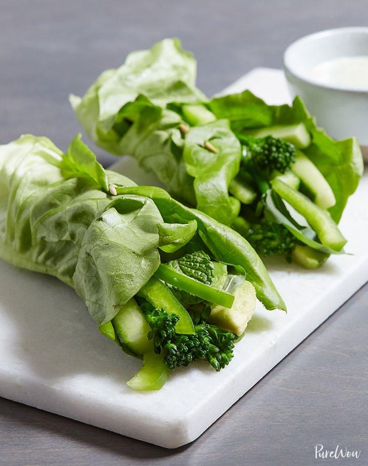 green goddess wraps recipe lunch ideas