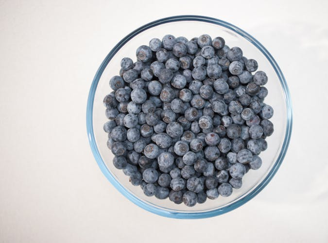 healthy food for women blueberries
