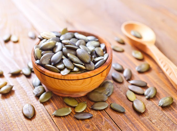healthy food for women pumpkin seeds