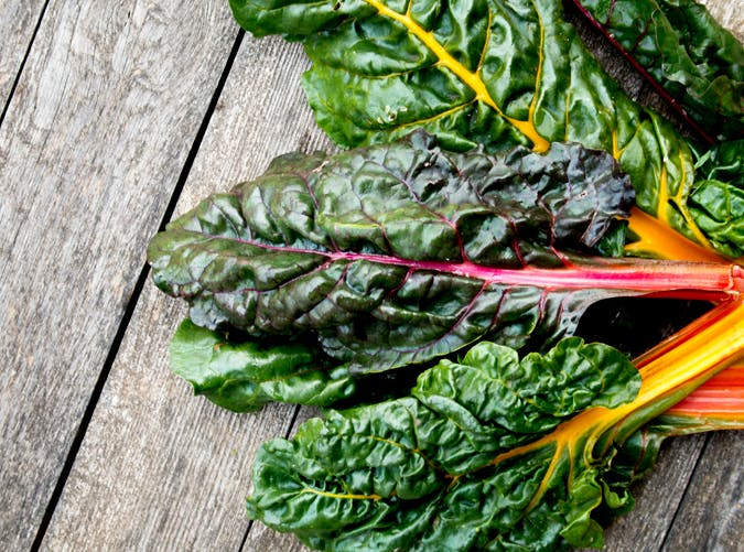 healthy food for women swiss chard
