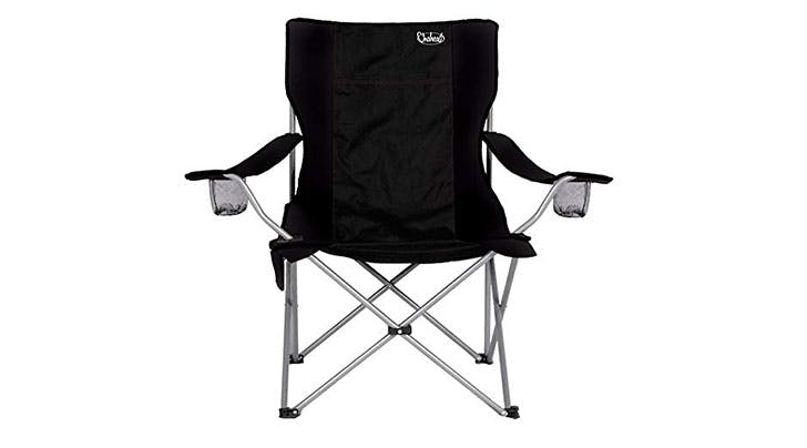 Soccer Moms, Rejoice: You Need This Heated Folding Chair for Chilly Game Days
