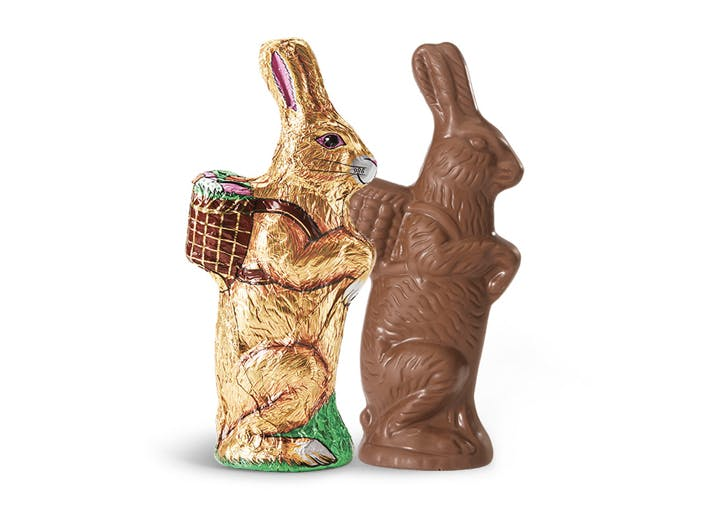 hollow chocolate bunny easter candy