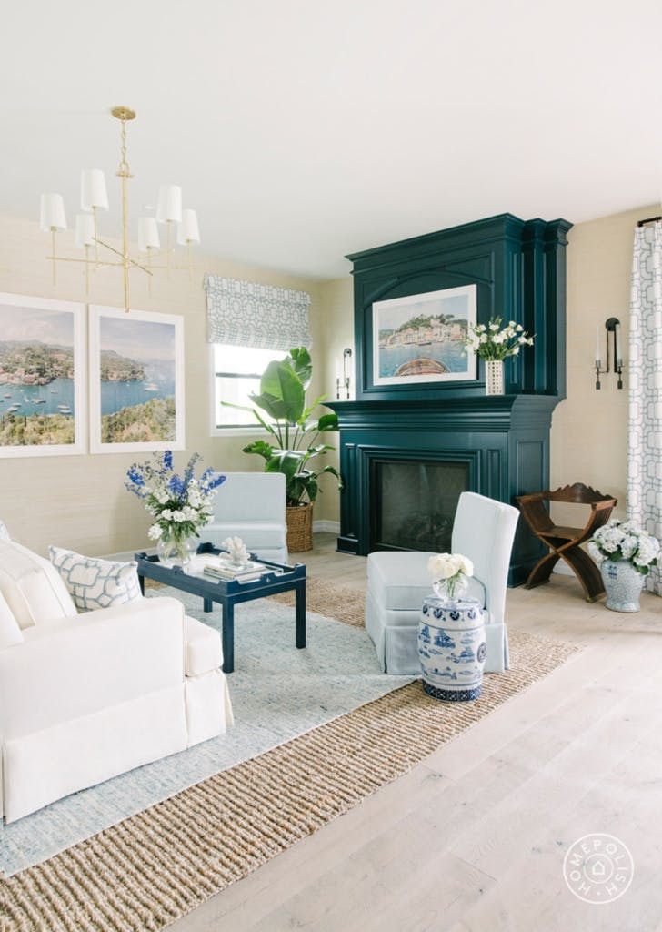 homepolish room blue decor