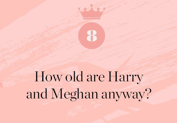 how old are prince harry and meghan markle