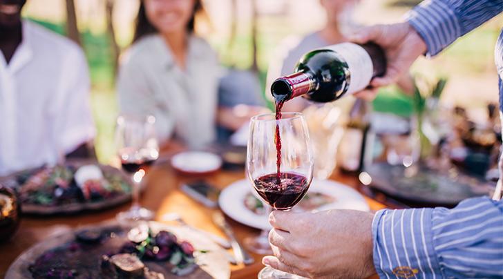 Stop Sign Basic Red Wine Bottle Stopper Cork