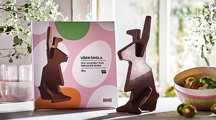 IKEA Has Chocolate 'Vårkänsla' for Easter, and Yeah, They Require Some Assembly