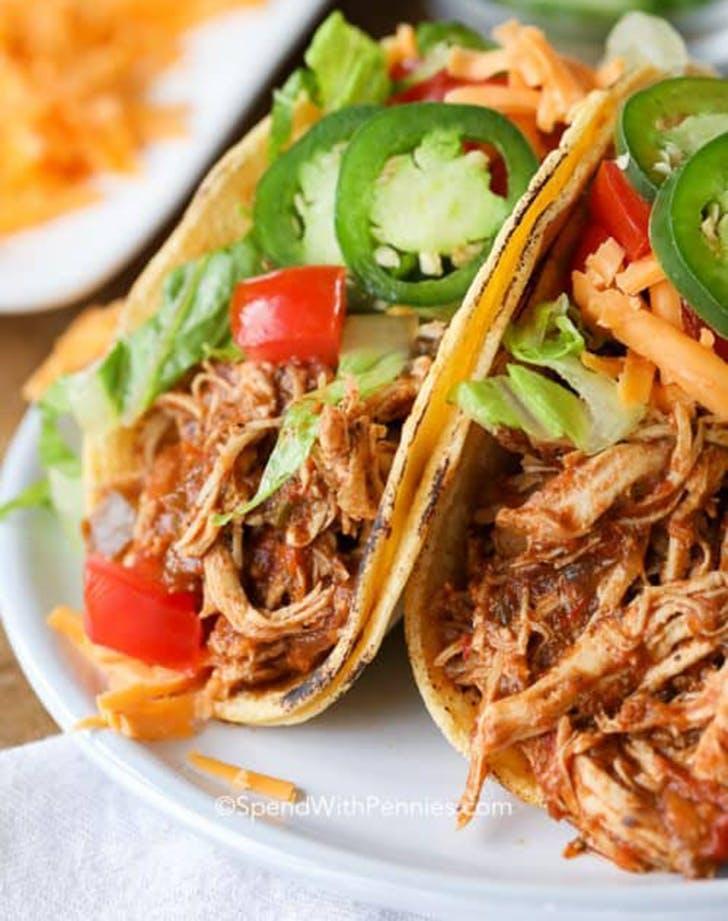 instant pot chicken tacos recipe1