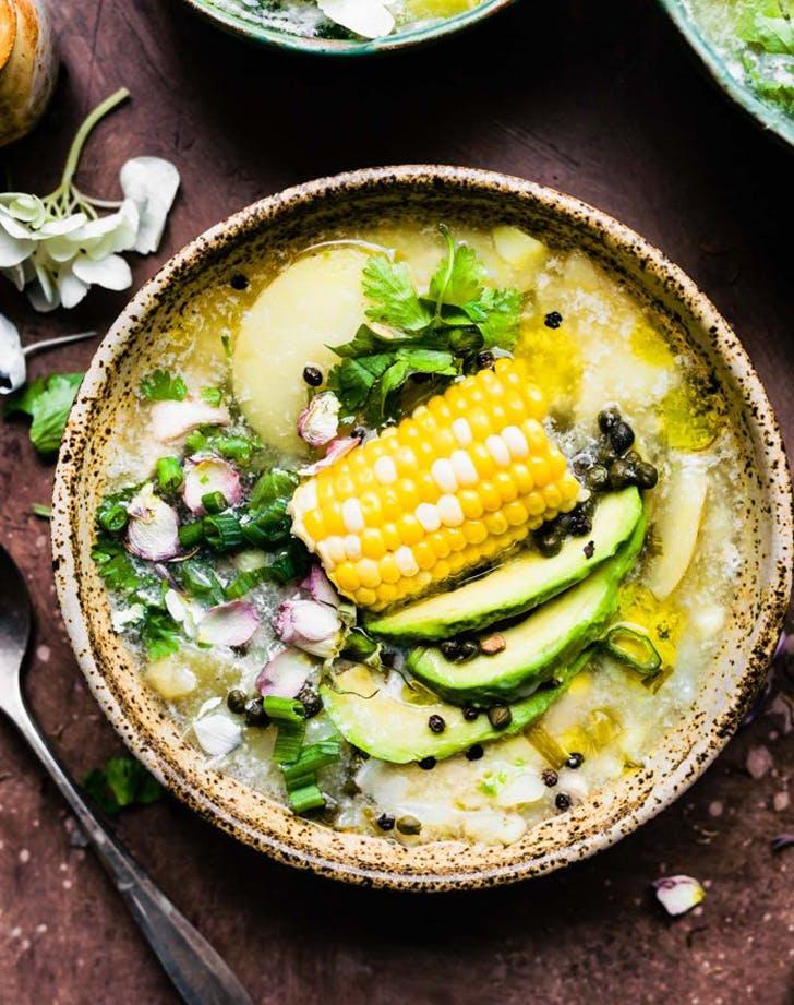 instant pot colombian chicken potato soup recipe1