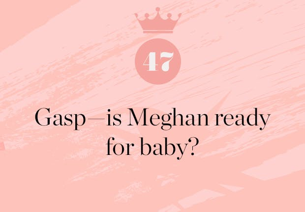 is meghan markle ready for the royal baby
