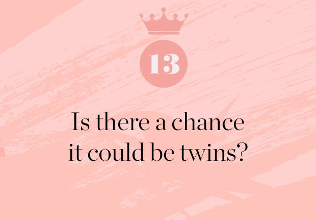 is there a chance meghan markle is having twins