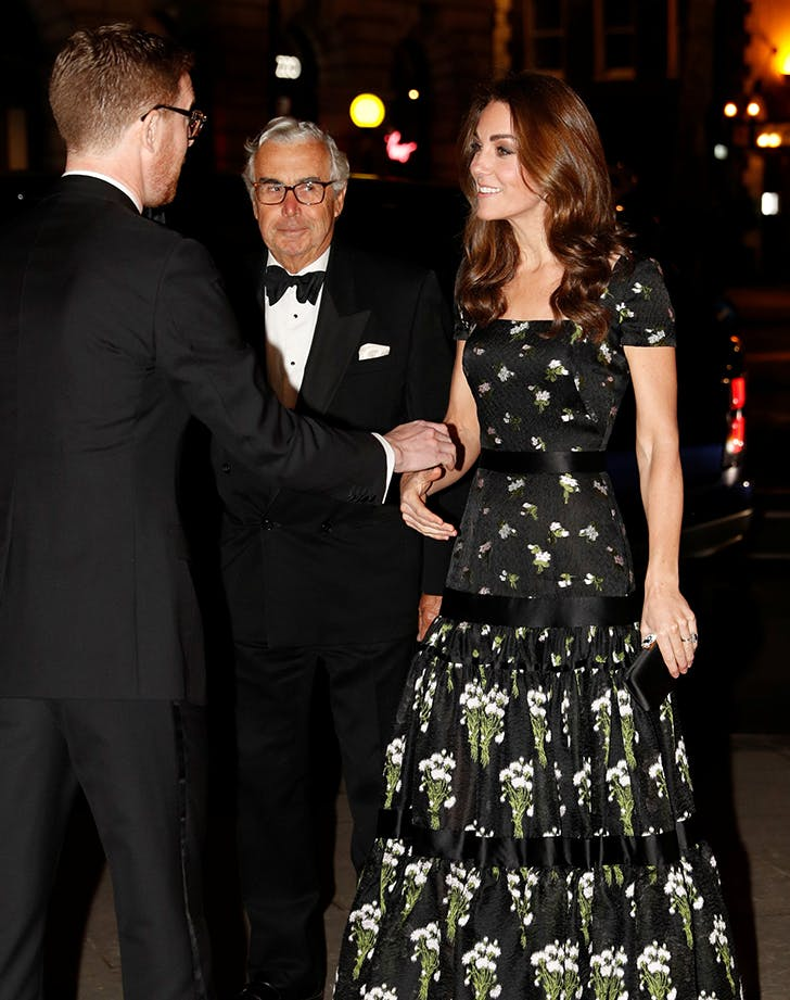 Kate Middleton Deployed This Signature Duchess Move Last Night at the National Portrait Gallery