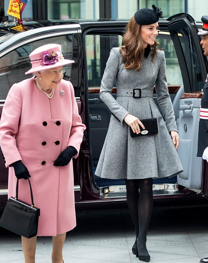 Hear Ye, Hear Ye: Kate Middleton Just Stepped Out Solo with Queen Eliz for the Very First Time
