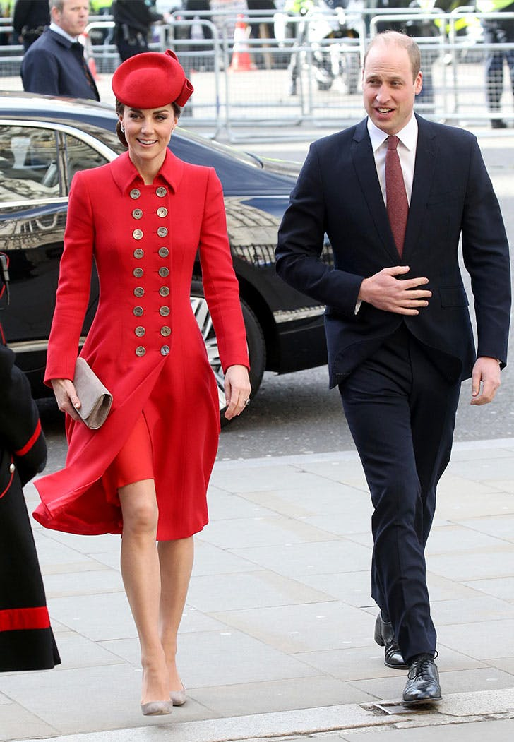 kate middleton red catherine walker