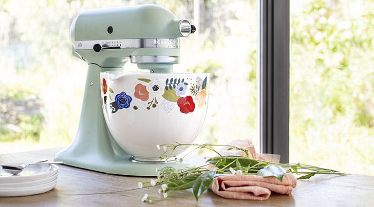 KitchenAid's New Mixing Bowls Are Totally Beautiful (and Totally Genius!)
