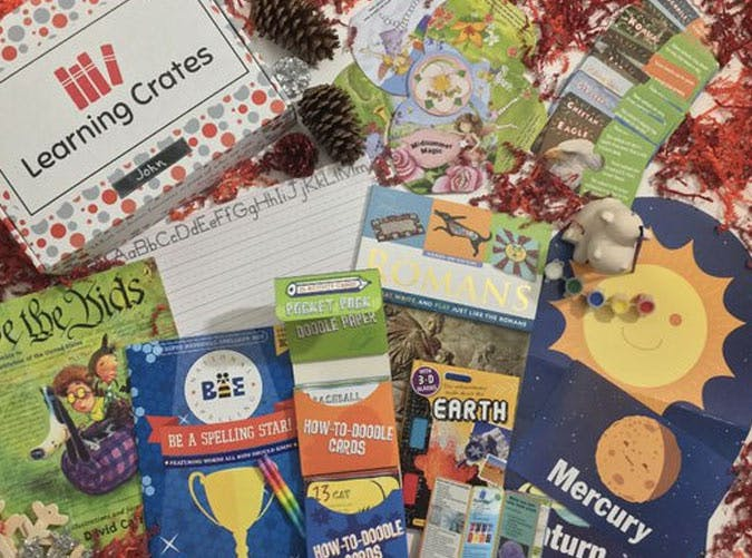 learning crates subscription box