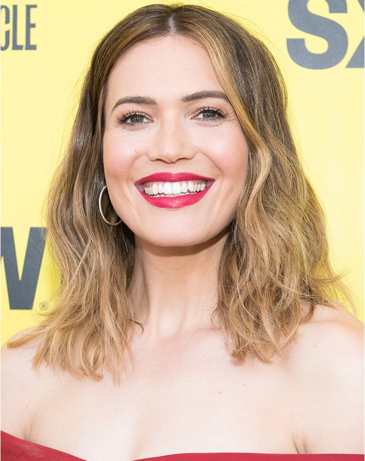 mandy moore hair color