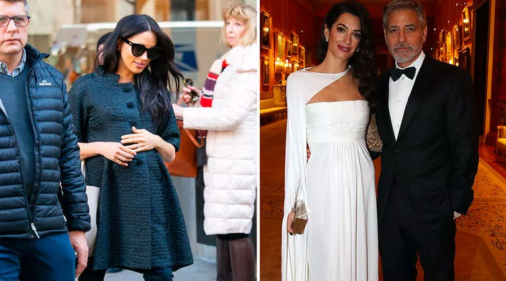 All the Clues That Amal and Meghan Swap Shopping Secrets Were Right in Front of Our Eyes
