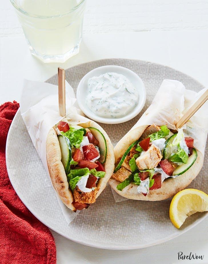 mini chicken shawarma recipe lunch ideas