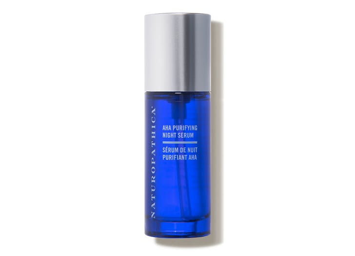 naturopathica aha purifying night serum for adult acne