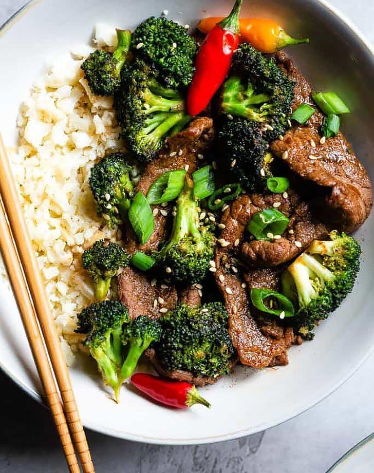 paleo low carb keto beef broccoli recipe