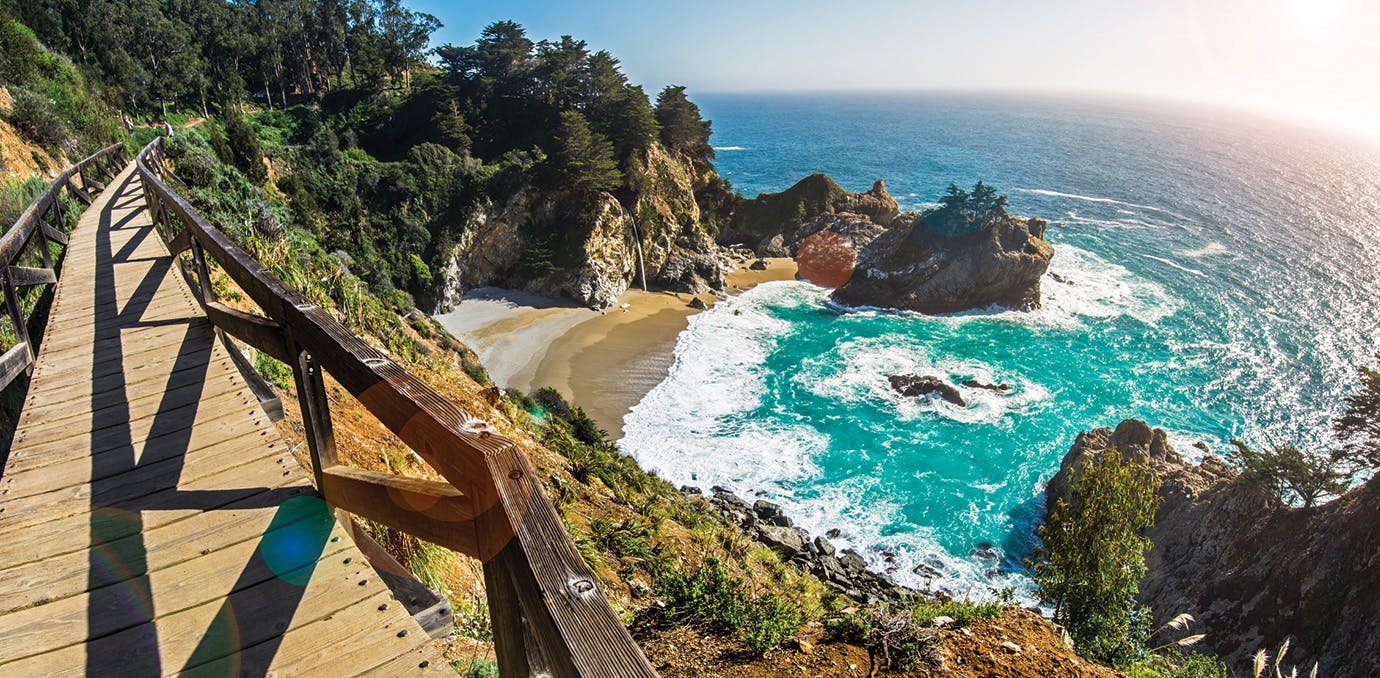 photogenic spots in america big sur california