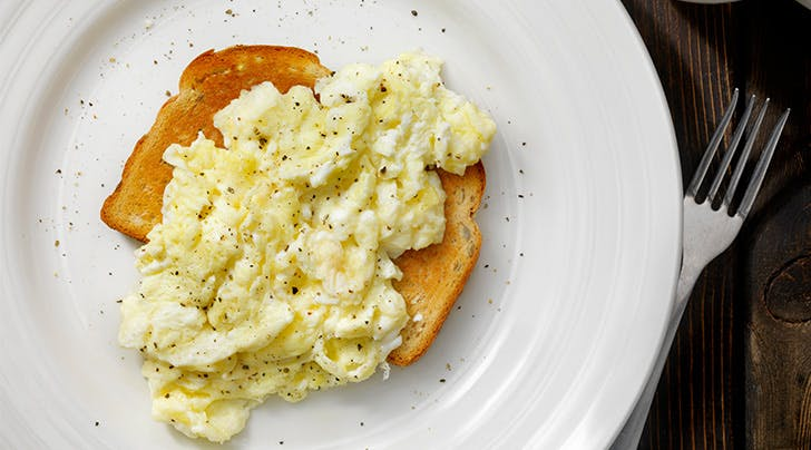 The Secret Ingredient to the Fluffiest Scrambled Eggs