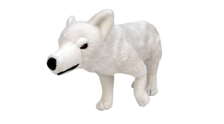 A Ghost Direwolf Plush Toy from 'Game of Thrones' Is the Only Appropriate Gift for the Northerner in Your Life