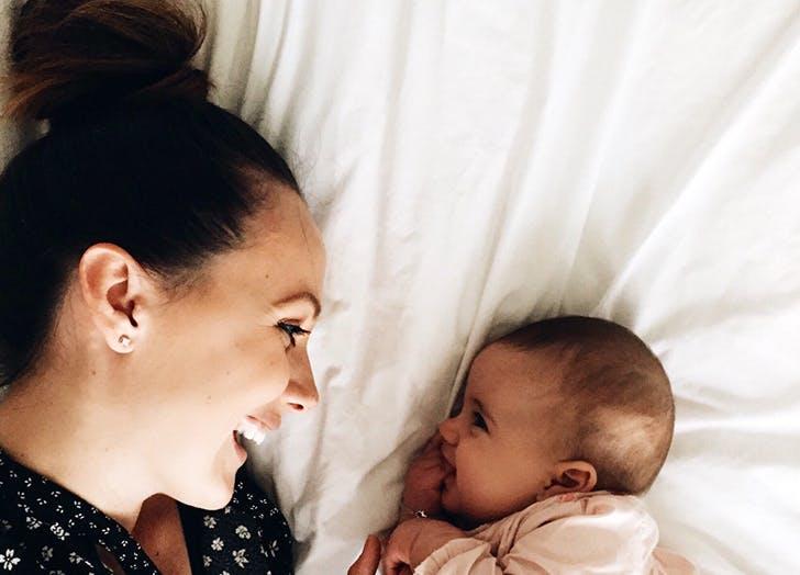 postpartum hair loss mom and baby