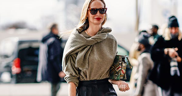 The Preppy Sweater Trend that Cool Girls Now Swear By