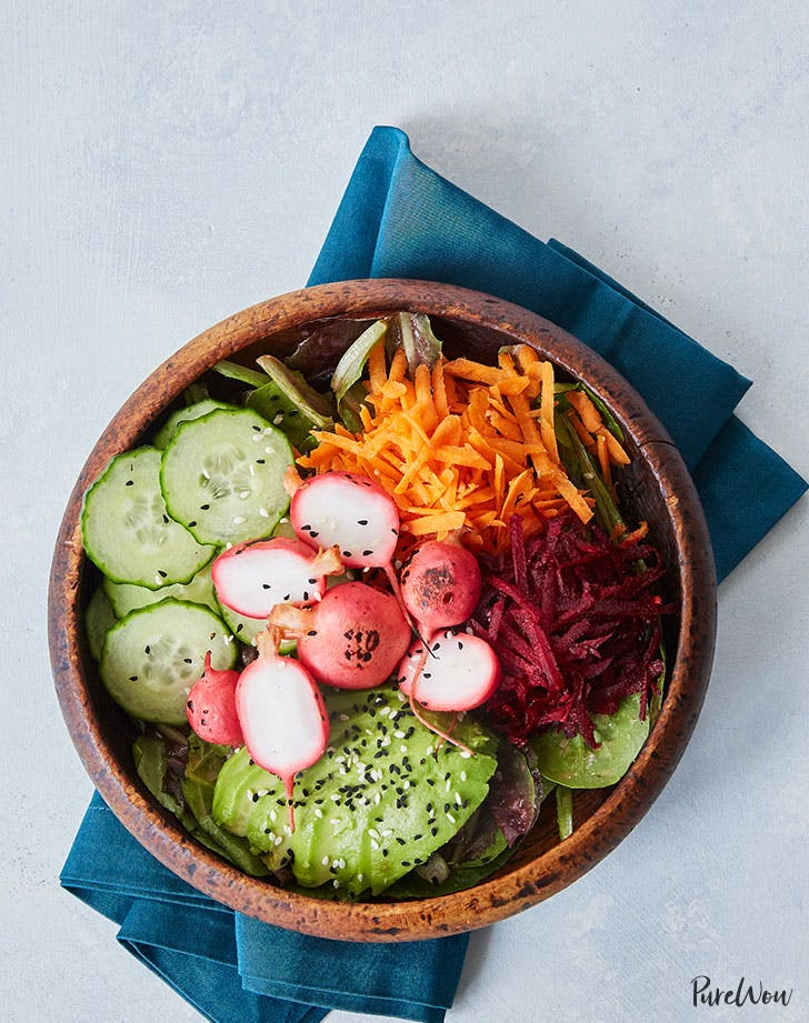 radish bbq bowls recipe lunch ideas