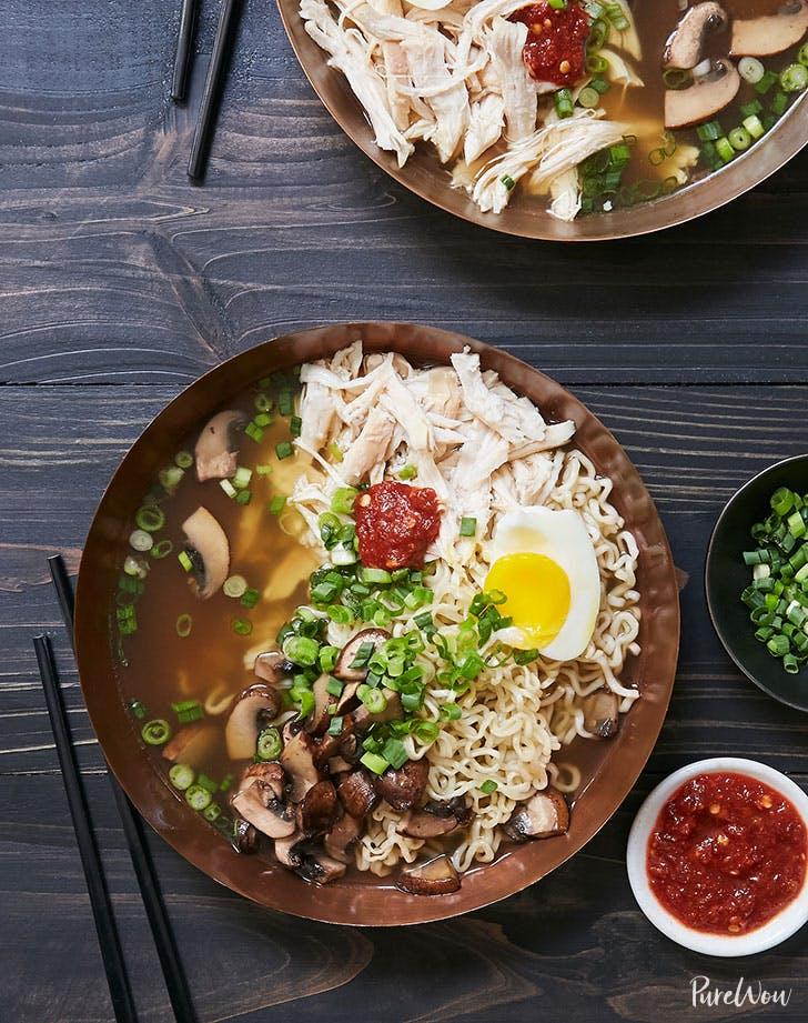 rotisserie chicken ramen recipe lunch ideas