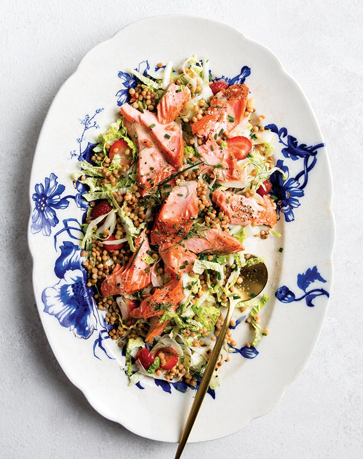 Salmon and Fennel Dinner Salad