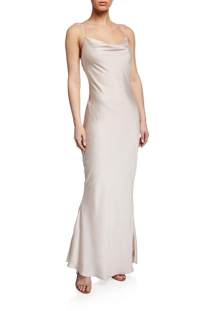 slip dress wedding dress 8
