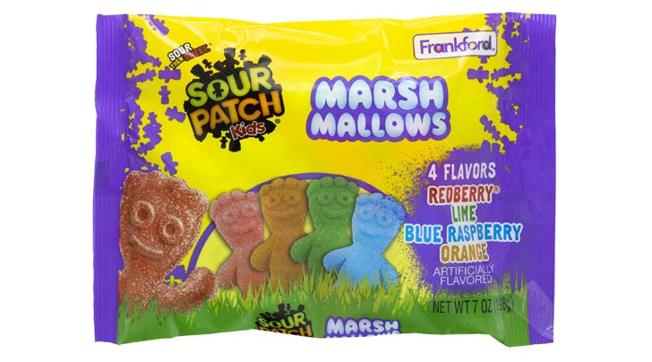Sour Patch Kids Marshmallows Are Kind of Like Peeps, But Better