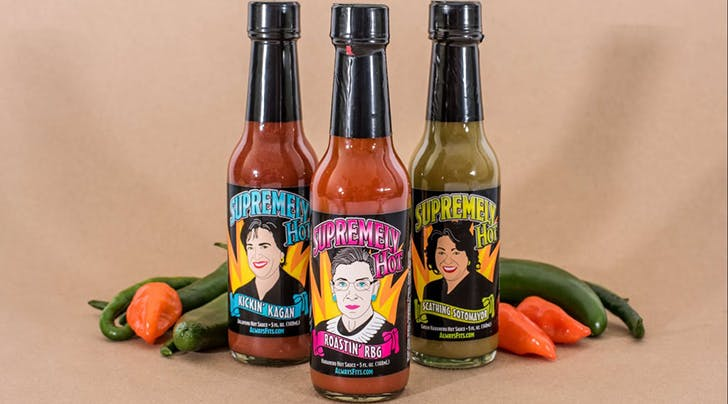 Theres a Ruth Bader Ginsburg Hot Sauce and We Have Zero Objections