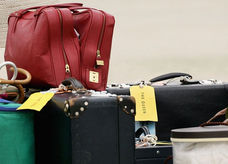 The Royals Have a Secret Color-Coding System for Their Luggage While Traveling, and It's Sorta Genius