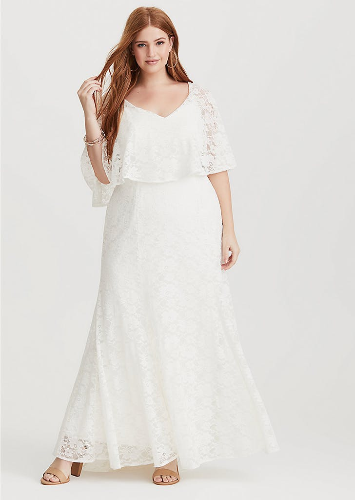 d65af327969 Affordable Plus-Size Wedding Dresses from Torrid - PureWow
