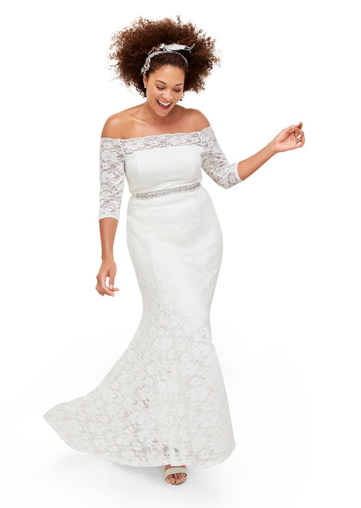 527366540bf Affordable Plus-Size Wedding Dresses from Torrid - PureWow