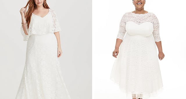 Affordable Plus-Size Wedding Dresses From Torrid