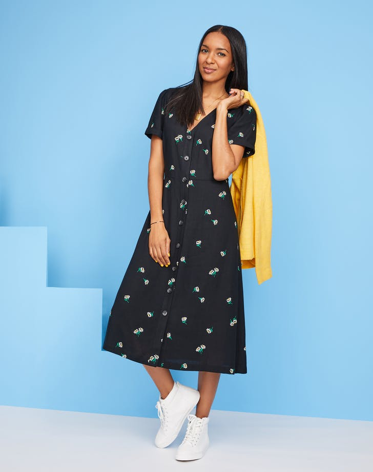 trasitional midi dress from old navy1