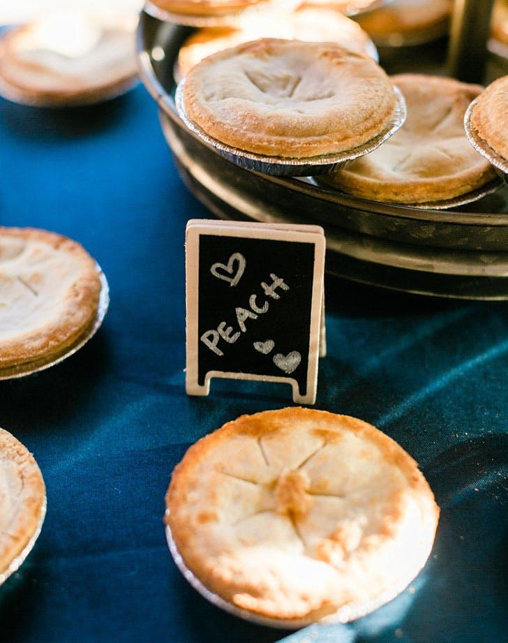 wedding mini pies 1