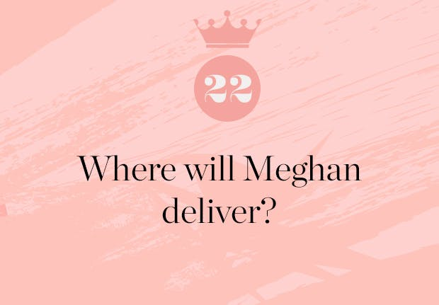 where will meghan markle give birth