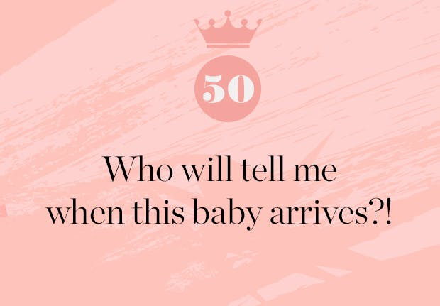 who will tell me when the royal baby arrives